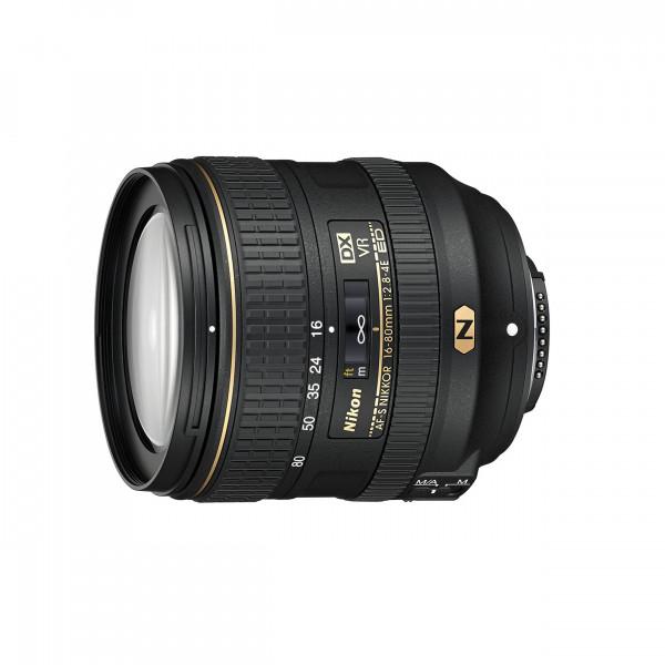 Nikon AF-S DX 16-80 mm 1:2,8-4E ED VR NIKKOR