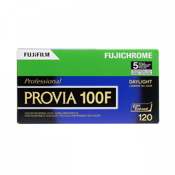 Fuji Provia 100F 120/5er Pack