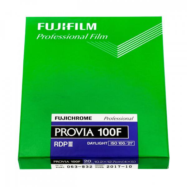 Fuji Provia 100F 4x5'' (20 Blatt)