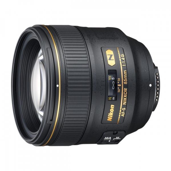 Nikon AF-S NIKKOR 85 mm 1:1.4G