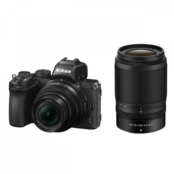 Nikon Z50 KIT DX 16-50mm 1:3.5-6.3 VR + DX 50-250mm
