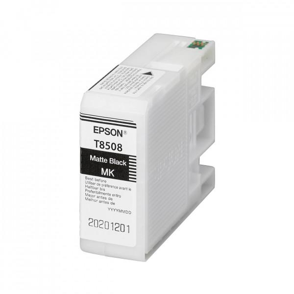 Epson Matte Black T8508 - Tintenpatrone mit 80ml Inhalt