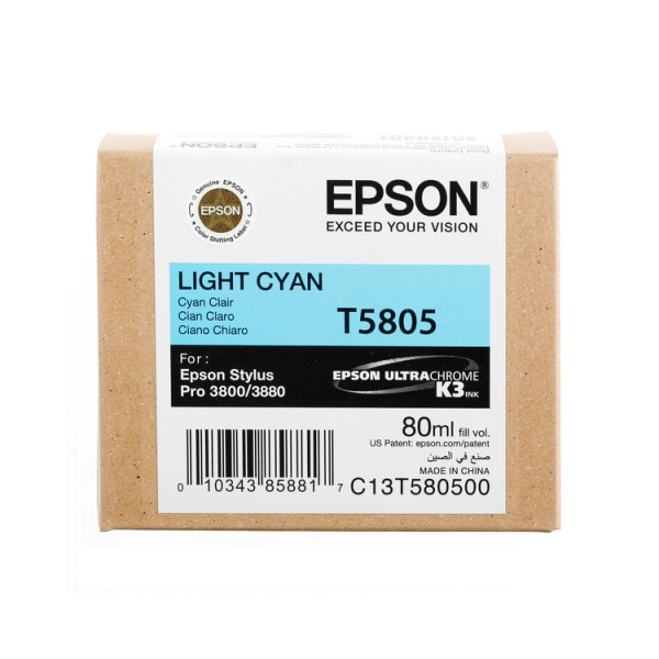Epson light cyan f. Stylus Pro 3800 01/2019