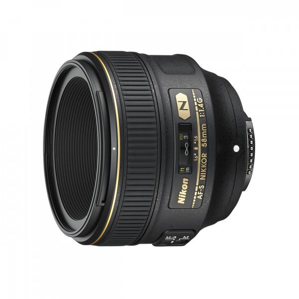 Nikon AF-S 58mm 1:1,4G NIKKOR