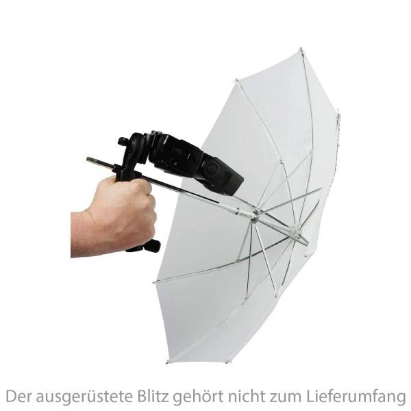 Lastolite Brolly Grip Kit mit Durchlichtschirm