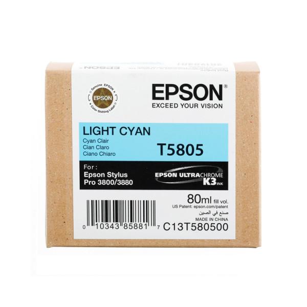 Epson Light Cyan T5805 - Tintenpatrone mit 80ml