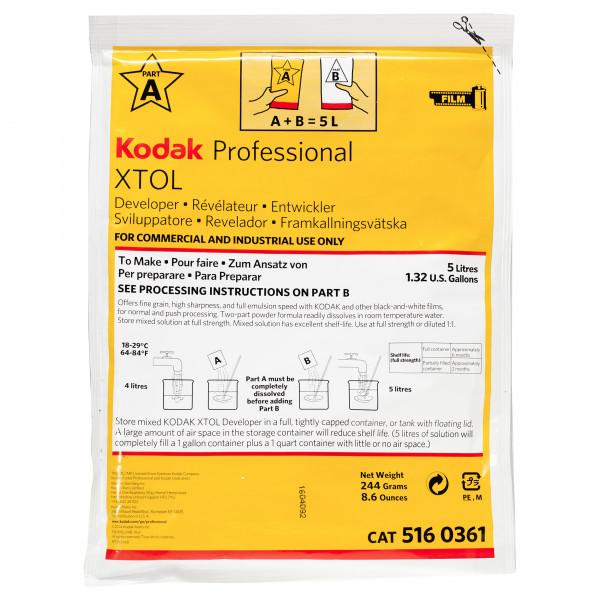 Kodak XTOL Professional Entwickler für 5 Liter
