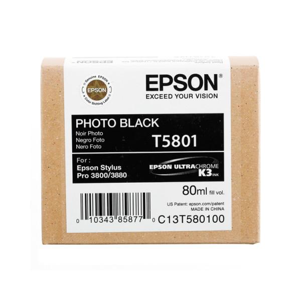 Epson Photo Black T5801 - Tintenpatrone mit 80ml