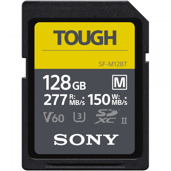 Sony SD 128GB TOUGH 277/150 MB/s SF-M