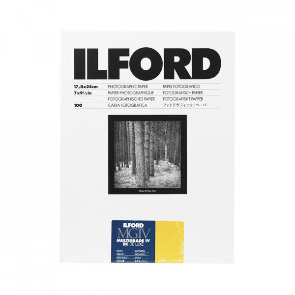 Ilford MGIV 25M 17,8x24,0cm satin (100 Blatt)