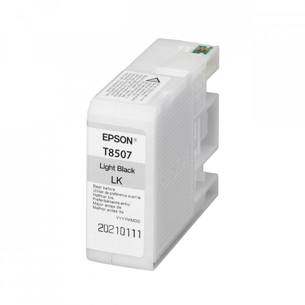 Epson Tinte Light Black T8507