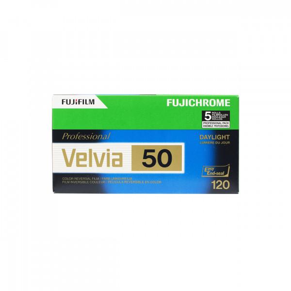 Fuji Velvia RVP 50 120/5er Pack