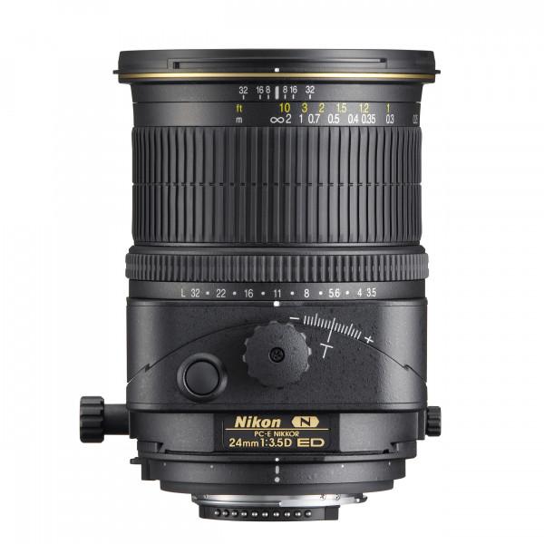Nikon PC-E 24mm f3.5D ED seitlich