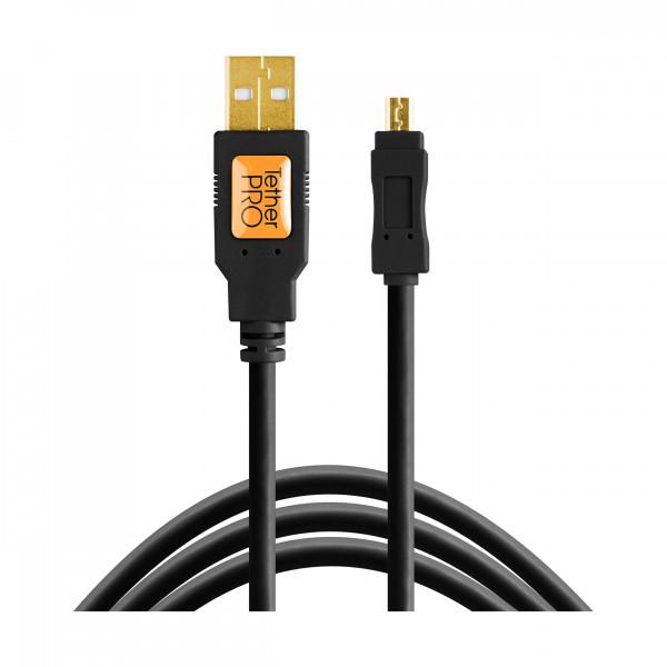 TetherPro USB 2.0 A / Mini B, 4,6m