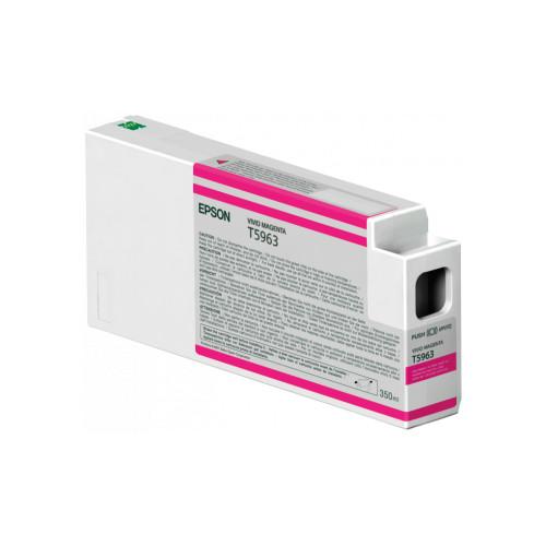 Epson Tinte Vivid Magenta T5963 350ml