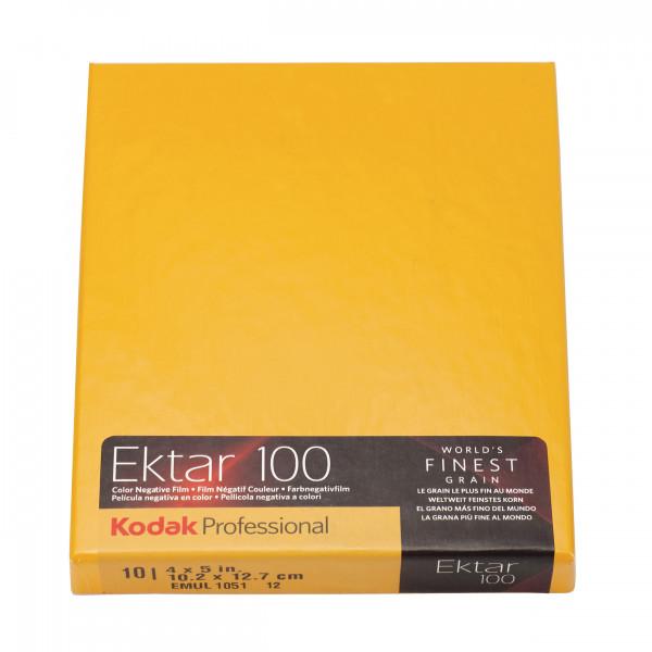Kodak Ektar 100 4x5' 10 Blatt