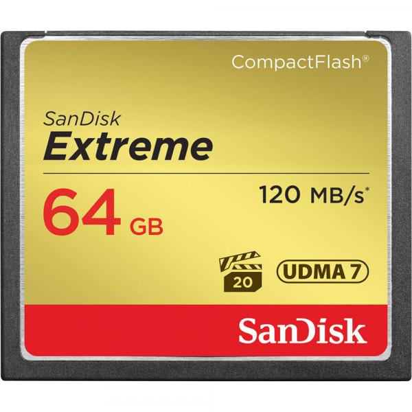 SanDisk 64GB CF-Karte Extreme